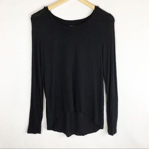 Madewell | Small | Top | Hi Low | Black | Top